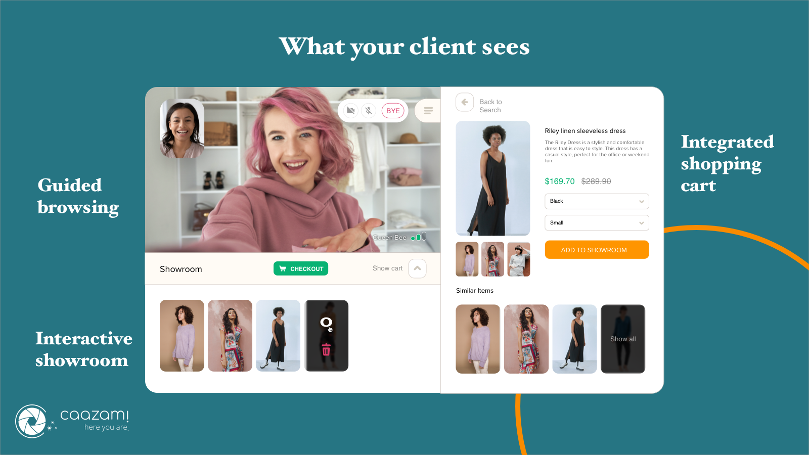 What Your Client Sees - Video-based Shopping Experience