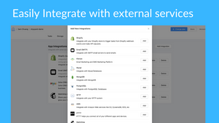 Integrate with third party services