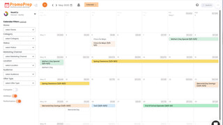 marketing calendar & promotion planning software