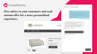 Give advice to your customers and send custom offers