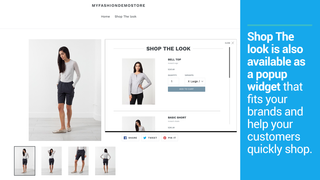 Shop The Look in Produktdetailseite