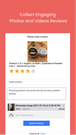 Collect Video Reviews & Photo Reviews