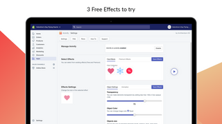 Animify admin settings –Free image animation effects