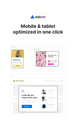 Mobile & tablet optimized campaigns in one click