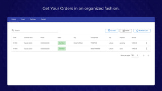 Orders Screen