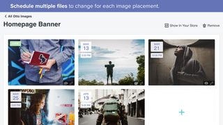 Schedule multiple files per image placement