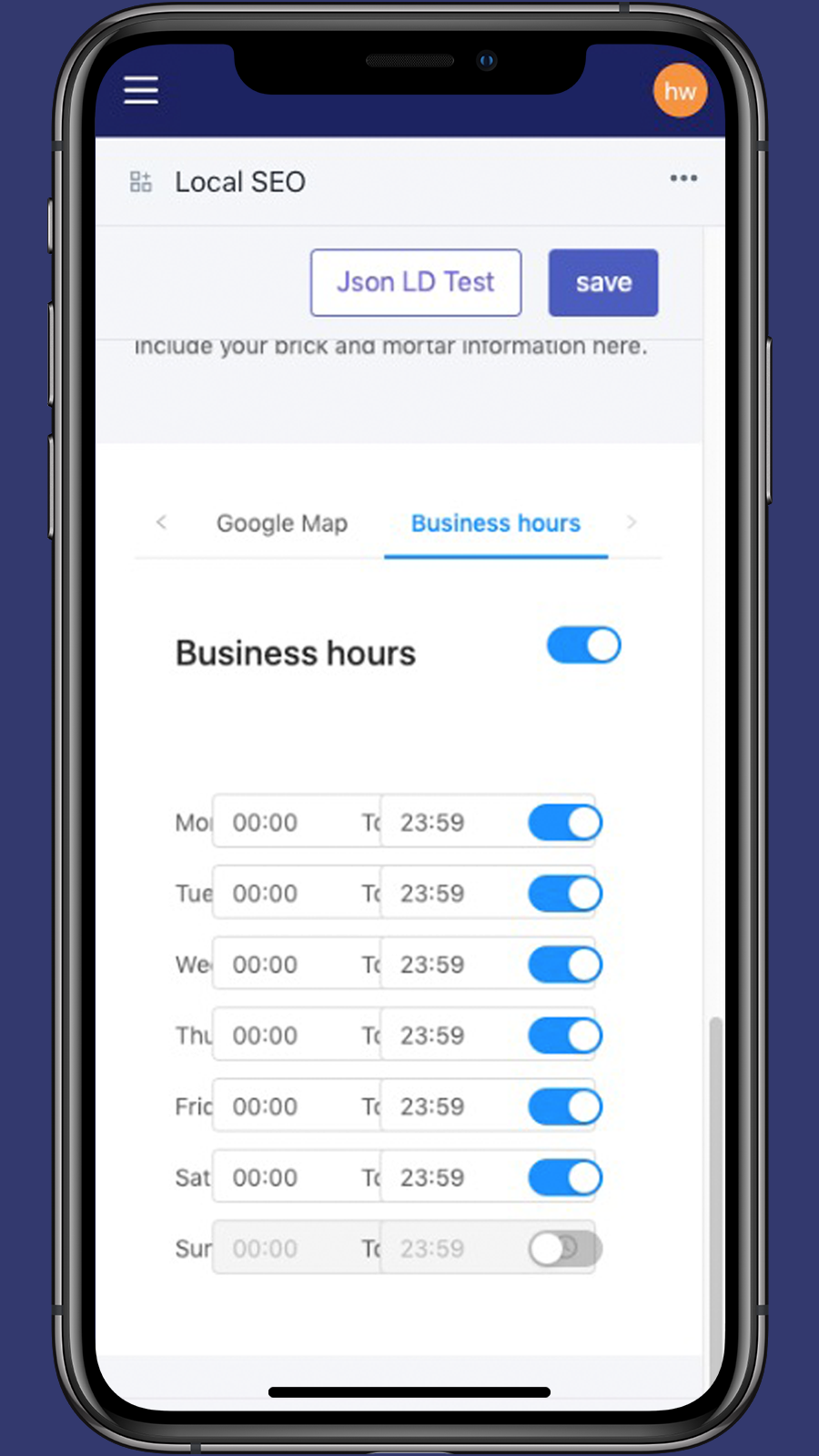Business Hours_Local SEO