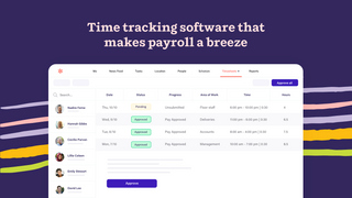 Accurately capture timesheets and seamless export them