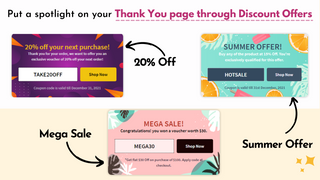 Upsell Discount Offers for Sales One Click Upsell