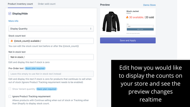 Customize NEON tag to match your store