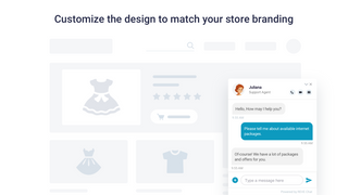 live chat widget on shopify ecommerce store