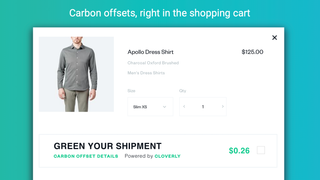 Carbon offsets right in the shopping cart