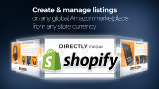 Sell on Amazon direct from Shopify