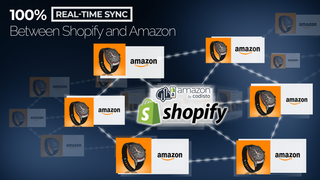 Real-time sync between Shopify and Amazon
