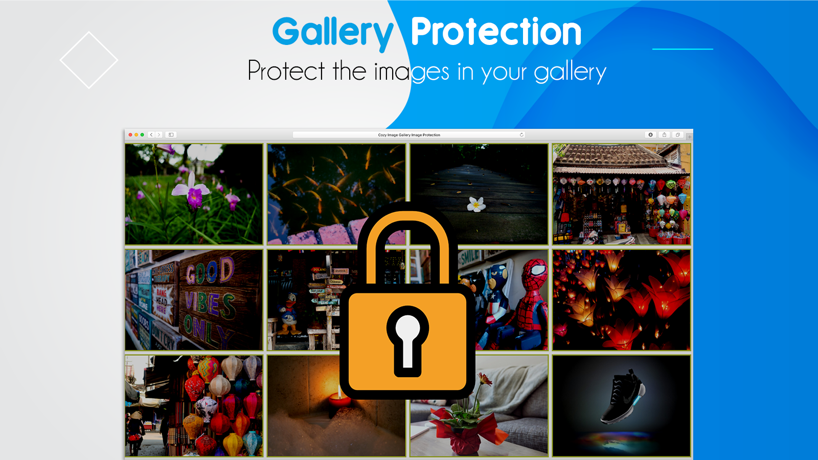 Antitheft shopify images gallery protection from competitors