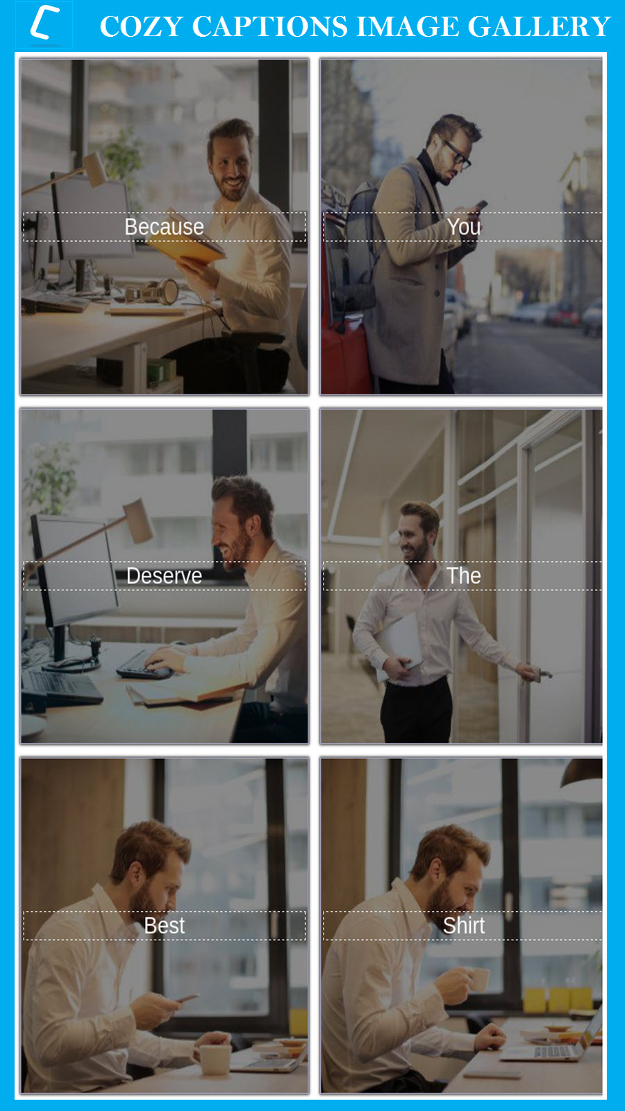 Rich Caption Style Grid Gallery for Shopify