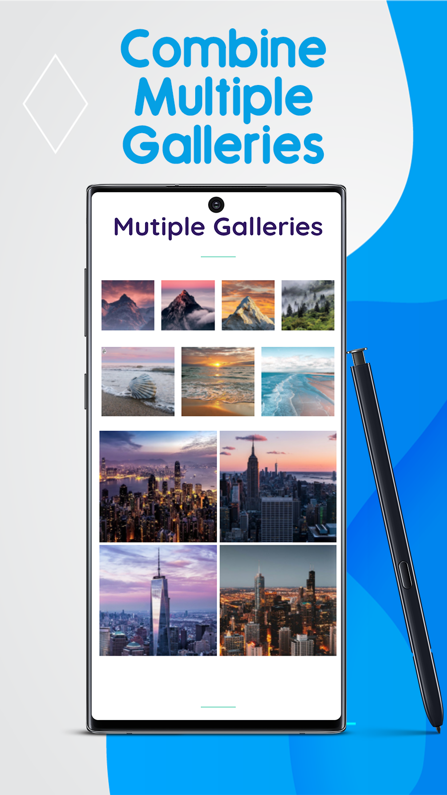 Unlimited Shopify photo galleries