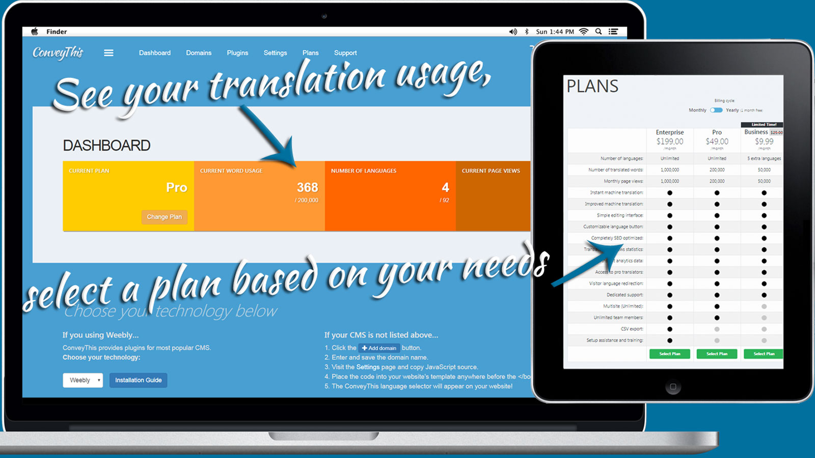 Translation Dashboard - See All Your Important Metrics.