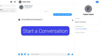 FB Messenger in action