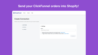 Clickfunnel Orders In To Shopify