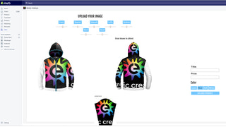 Design your own Light Up Hoodie