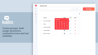 Kaito Editor: Assign question to products, pages and add video