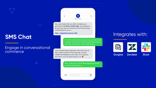 SMS Chat - engage in conversational commerce