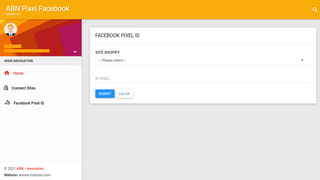 Add the Pixel Facebook tracking ID to your store