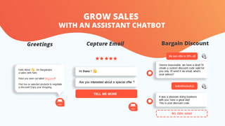 Grow sales with an assistant chatbot
