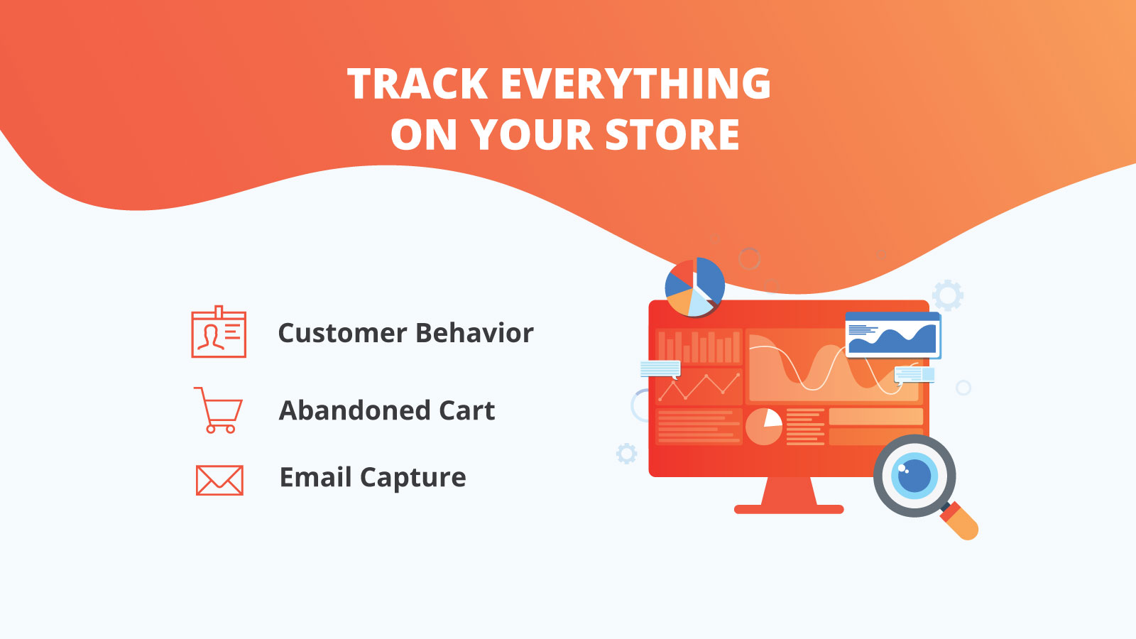 Track everything on your store