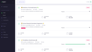 Manage your collaborations your partners, quickly visualize data