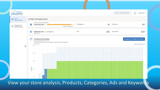 View your store analysis, Products, Categories, Ads and Keywords