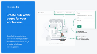 Create bulk order pages for your wholesale form