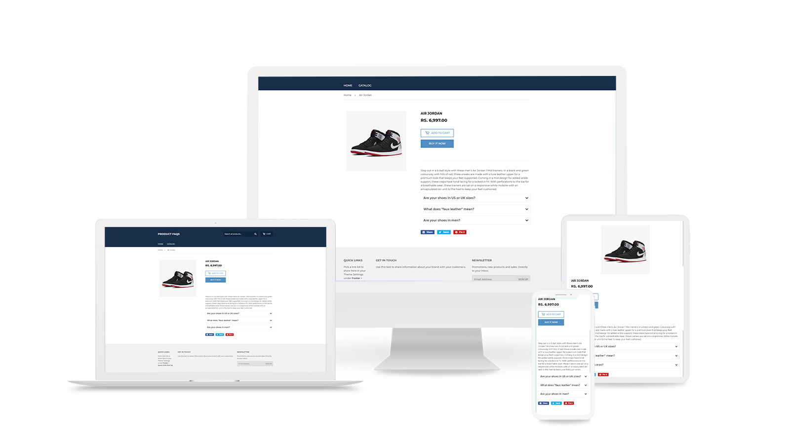 Product Listing Preview In Frontend