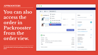 You can also create the shipping from the order view