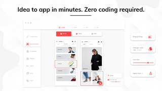 Idea to app in minutes. Zero coding required.