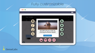 Fully customizable discount popups
