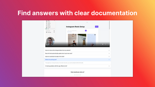 Find answers with clear documentation