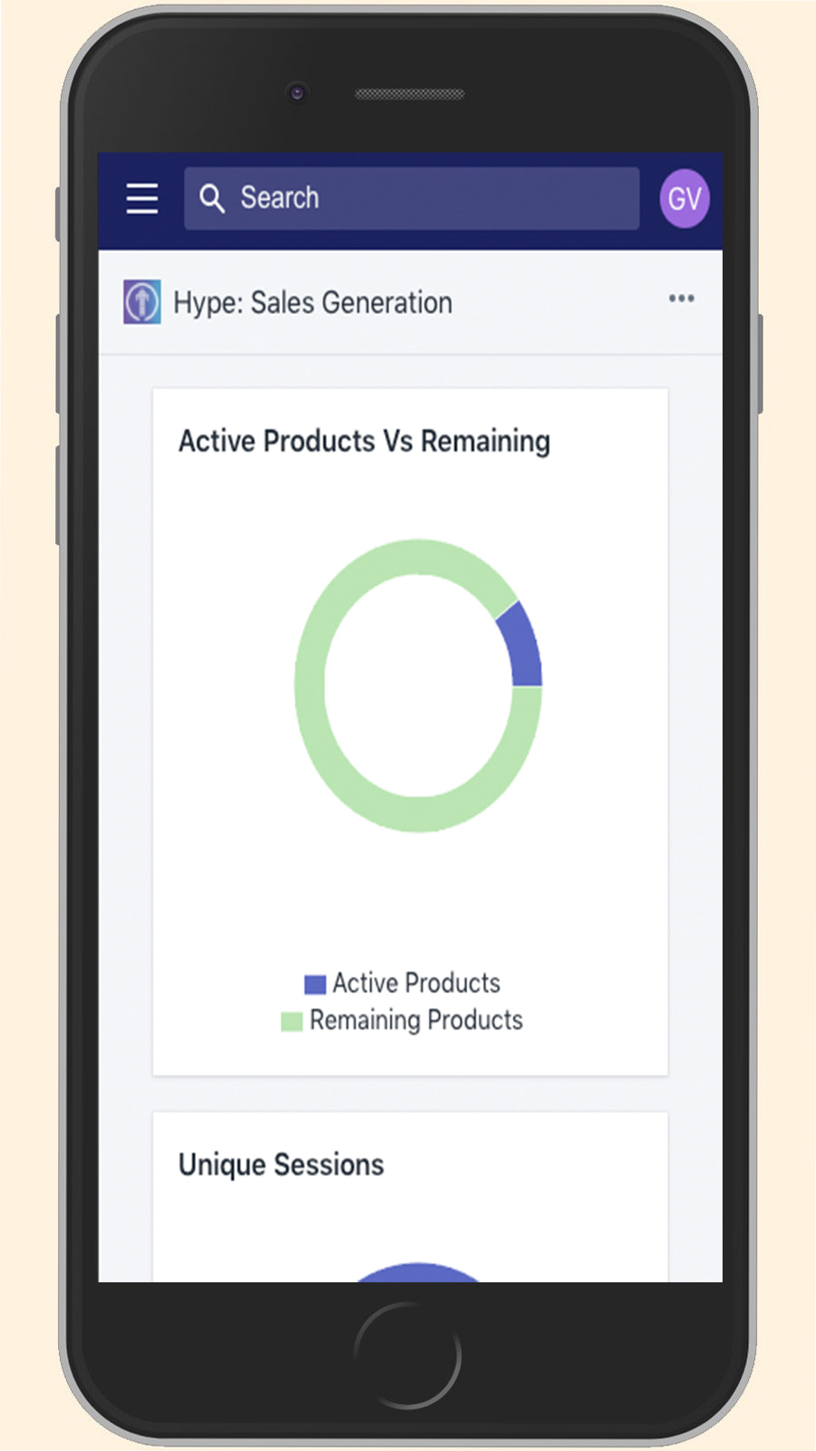 In-depth analytics available on Mobile and Desktop