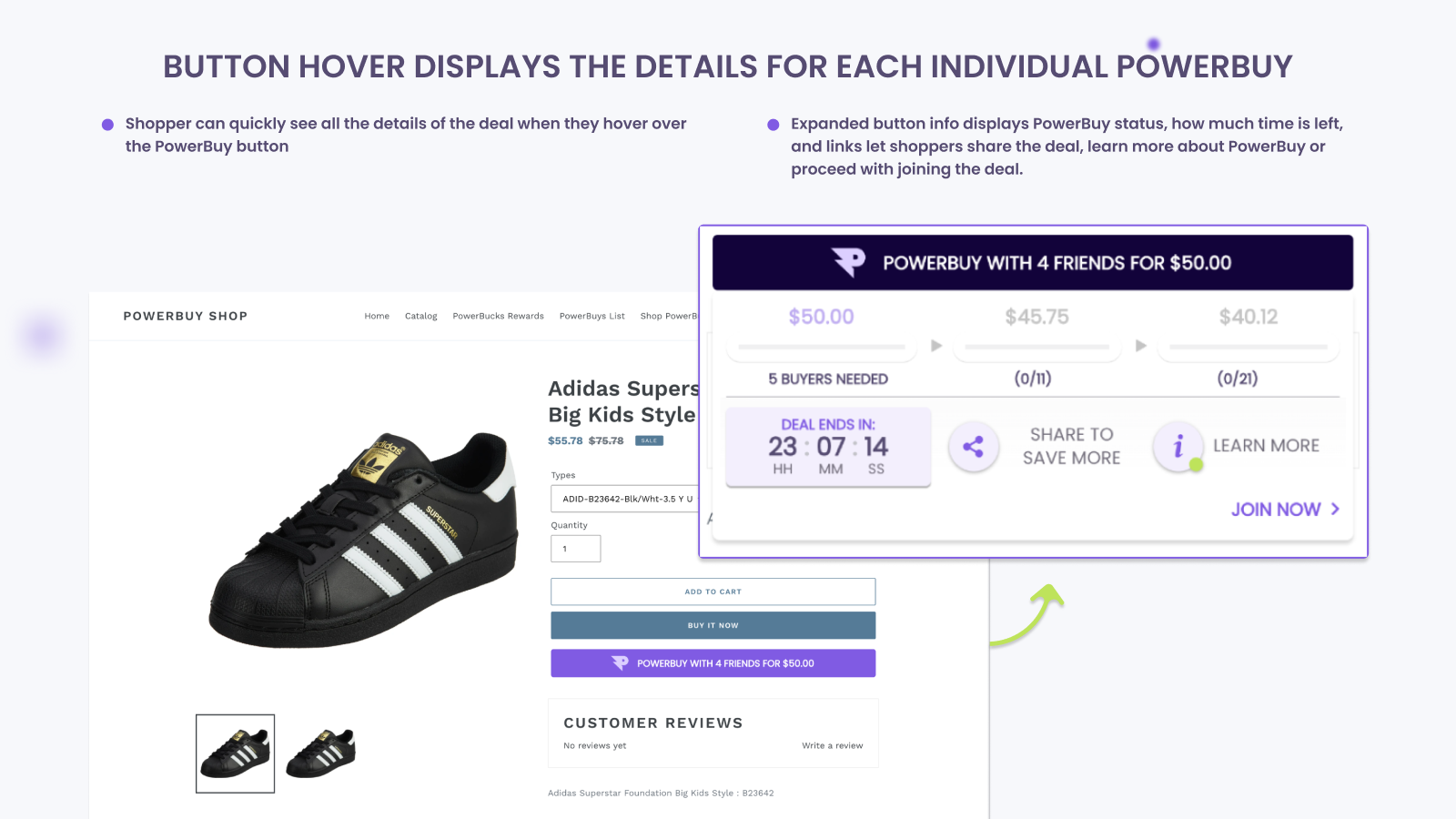 PowerBuy on Product Page (Web)