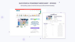 Successful PowerBuy Merchant