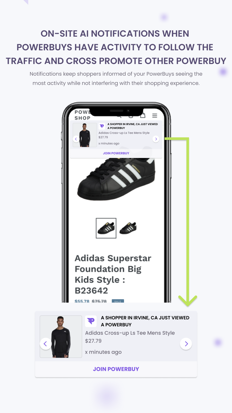On-site Notification (Mobile)
