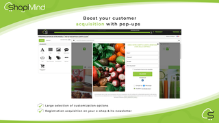 Boost your customer acquisition with our pop-ups