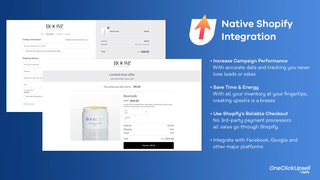 Native Shopify Integration
