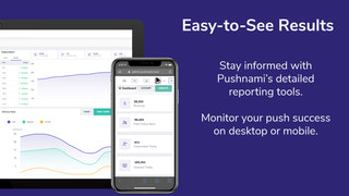 Stay informed with Pushnami's detailed reporting tools.