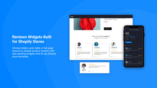 Modern Shopify Reviews Widgets
