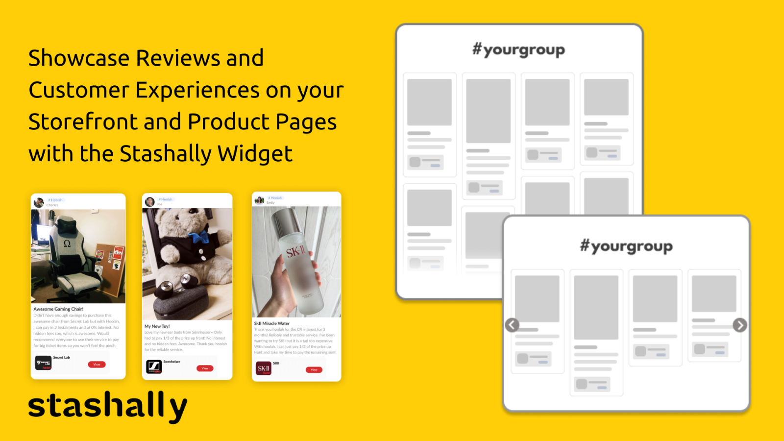 Showcase Social Proof on Your Pages