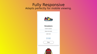 Fully mobile ready and optimized for fast load times.