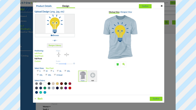 Create Product Listings and Select Variants