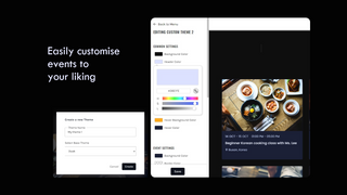 Easy customization options to meet your design language